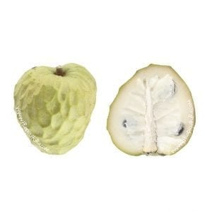 Organic Custard apples XL box