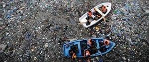 contaminación con plástico