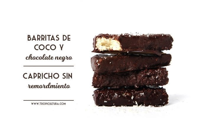 Healthy Coconut chocolate bars
